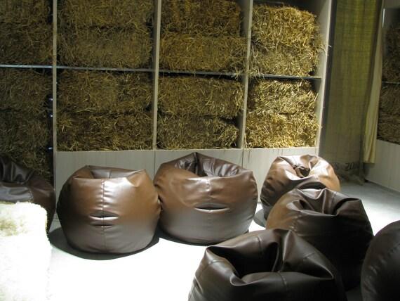 Superb Bean Bags Mela Italian Eco Leather Beanbag Cover Only L Size 100Cm Camellatalisay Diy Chair Ideas Camellatalisaycom