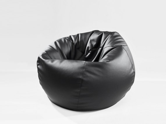 Fantastic Bean Bags Mela Italian Eco Leather Beanbag Cover Only L Size 100Cm Camellatalisay Diy Chair Ideas Camellatalisaycom