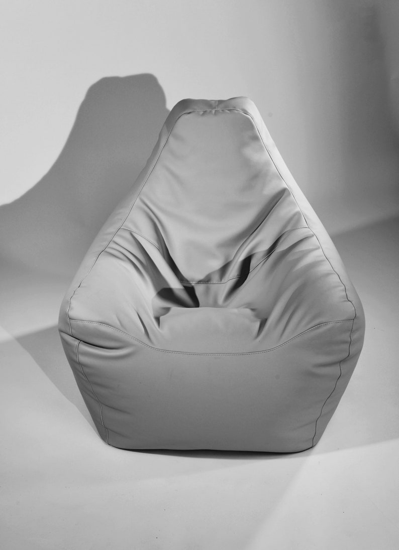 Awe Inspiring Bean Bags Chair Resto Italian Eco Leather Bean Bag Cover Only Camellatalisay Diy Chair Ideas Camellatalisaycom