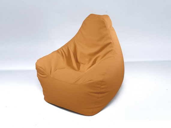 Awesome Beanbags Chair Resto Italian Eco Leather Bean Bags Cover Only Camellatalisay Diy Chair Ideas Camellatalisaycom