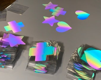 d942fd04f Pasties- 3 Pairs Rainbow Color Changing Reflective