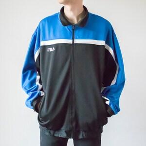 Vintage 90s hummel RedBlack Track Jacket