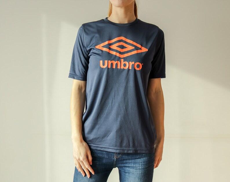 722659e328 Vintage 90s Umbro Blue Short Sleeved T-Shirt | Etsy