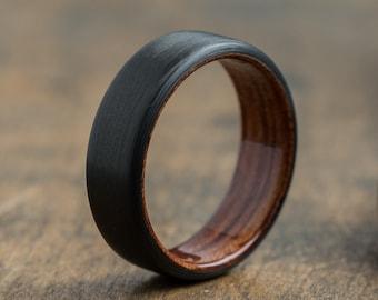 Waterproof wood ring | Etsy