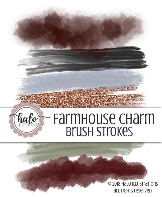 Fashion Farmhouse ArtHand Drawn Planner IllustrationWinter Stroke ClipartSticker Clipart Clip Brush fybvIY6g7
