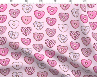 Handmade Cotton fitted crib sheet//Black//Valentine Cupcakes//Heart cookies