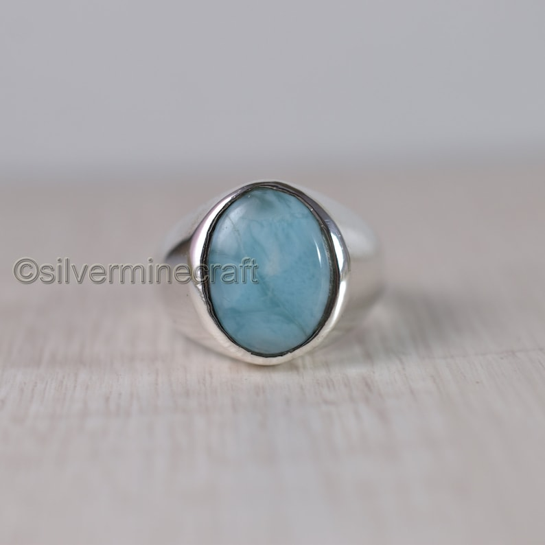 GENUINE CHALCEDONY RING .925 STERLING SILVER  FAST FREE SHIPPING !!