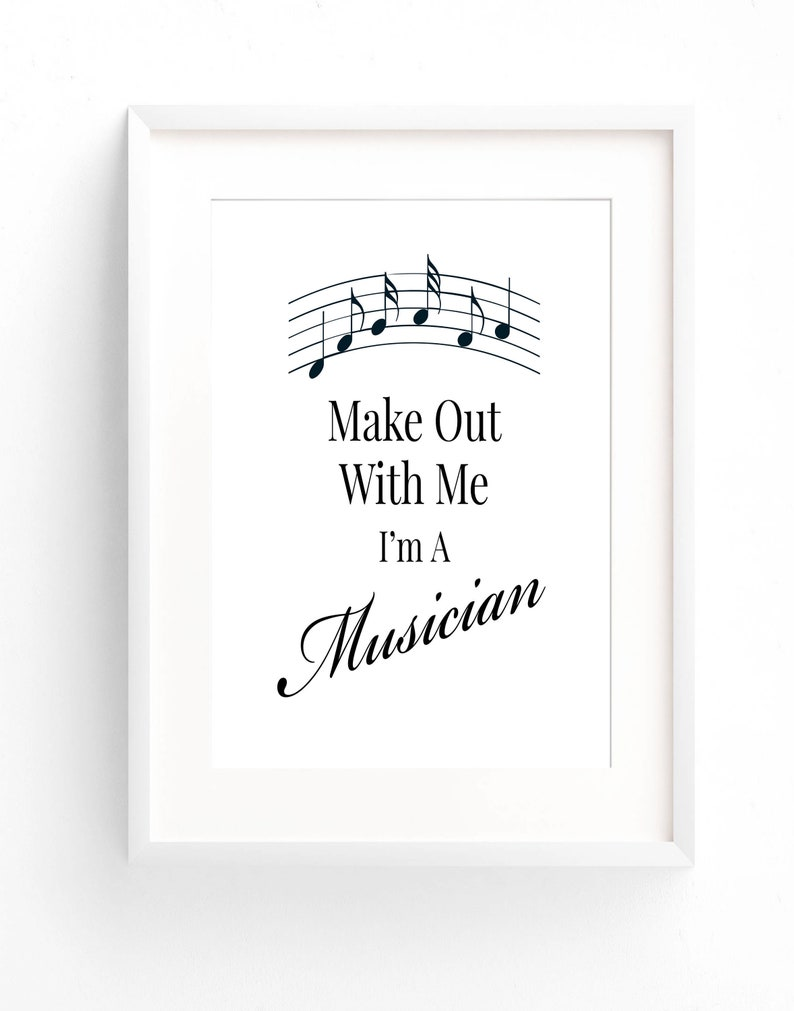 photo relating to Gift Not Included Printable called Humorous Musician Present For A Musician Estimate Tunes Printable Present For Musicians Presents Musician Poster Musician Decor Songs Presents Exciting Tunes Quotation
