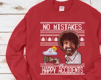 Bob Ross Shirt Funny Etsy