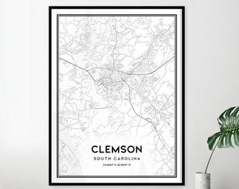 Map of clemson | Etsy Clemson Sc Map on reidville sc map, arcadia lakes sc map, batesville sc map, private colleges in sc map, rocky bottom sc map, antreville sc map, table rock state park sc map, cades sc map, berkeley sc map, fredericksburg tx map, johnson city sc map, chappells sc map, conestee sc map, forestbrook sc map, denver sc map, bluffton sc map, cokesbury sc map, south carolina road map, clemson university, upcountry sc map,