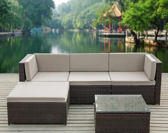 b4651faec1f66 Patio sofa | Etsy
