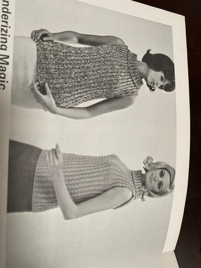 Beehive Patons Knitting Pattern Book #103 Blouses and Shells by Beehive