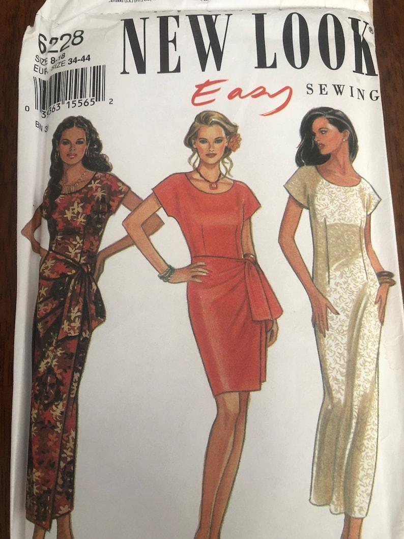 Pants Sizes 8-20-Uncut Burda 8577 Sewing Pattern Maternity Dress Top