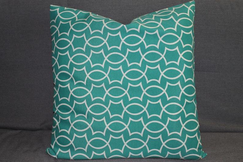 Home Pillow Cover Teal Pillow Throw Pillow Home Decor image 0