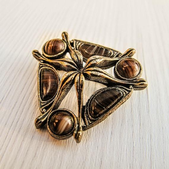 Celtic brooch Miracle collar pin Viking brooch Sco