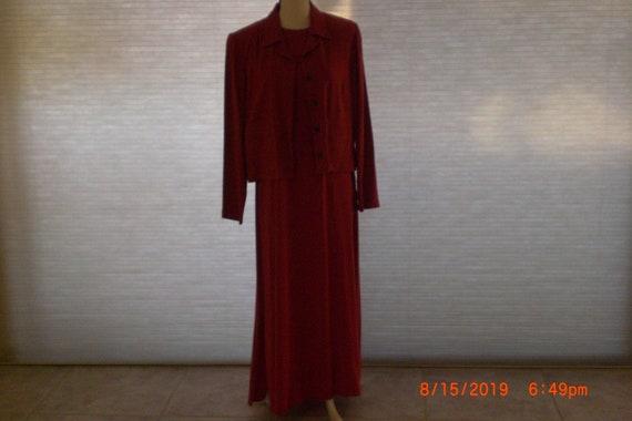 Jacket and dress by Liz Claiborne