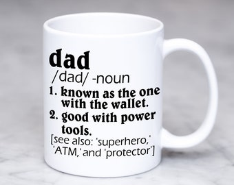 gift for dad funny dad gift dad mug dad coffee cup dad definition coffee cup dad christmas gift gift for father father gift