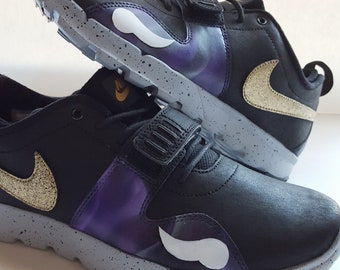 12f4d5d248c1a Nike Shoes Minnesota Vikings Style Men s Handpainted for dad birthday