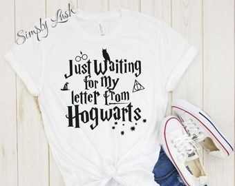 8cc7dbc51bd Just waiting for my letter from Hogwarts shirt
