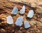 Large Gray Seaglass Pieces