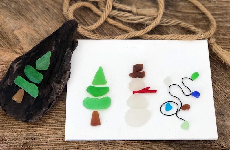 Jolly Seaglass Figurines DIY