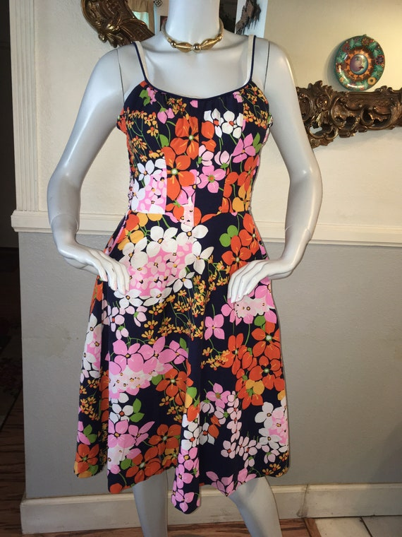 DeWeese Design Floral Dress
