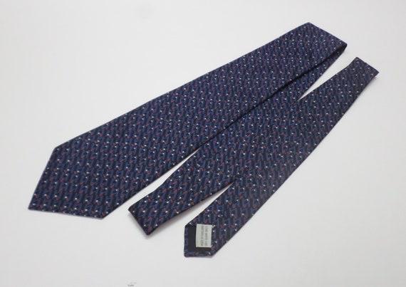 NT0550 Jim Thompson Blue Thai Silk Necktie Tie
