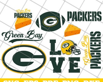 Green Bay Packers Svg, Packers Svg, NFL svg, Football Svg Files, Vector Cut File, Football Logo, T-shirt design, Cut files, Print Files