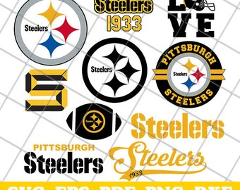 Pittsburgh Steelers SVG, Pittsburgh Steelers Files, Steelers Logo, Pittsburgh Steelers Clipart, Decal, Pittsburgh Steelers Cut File, Svg