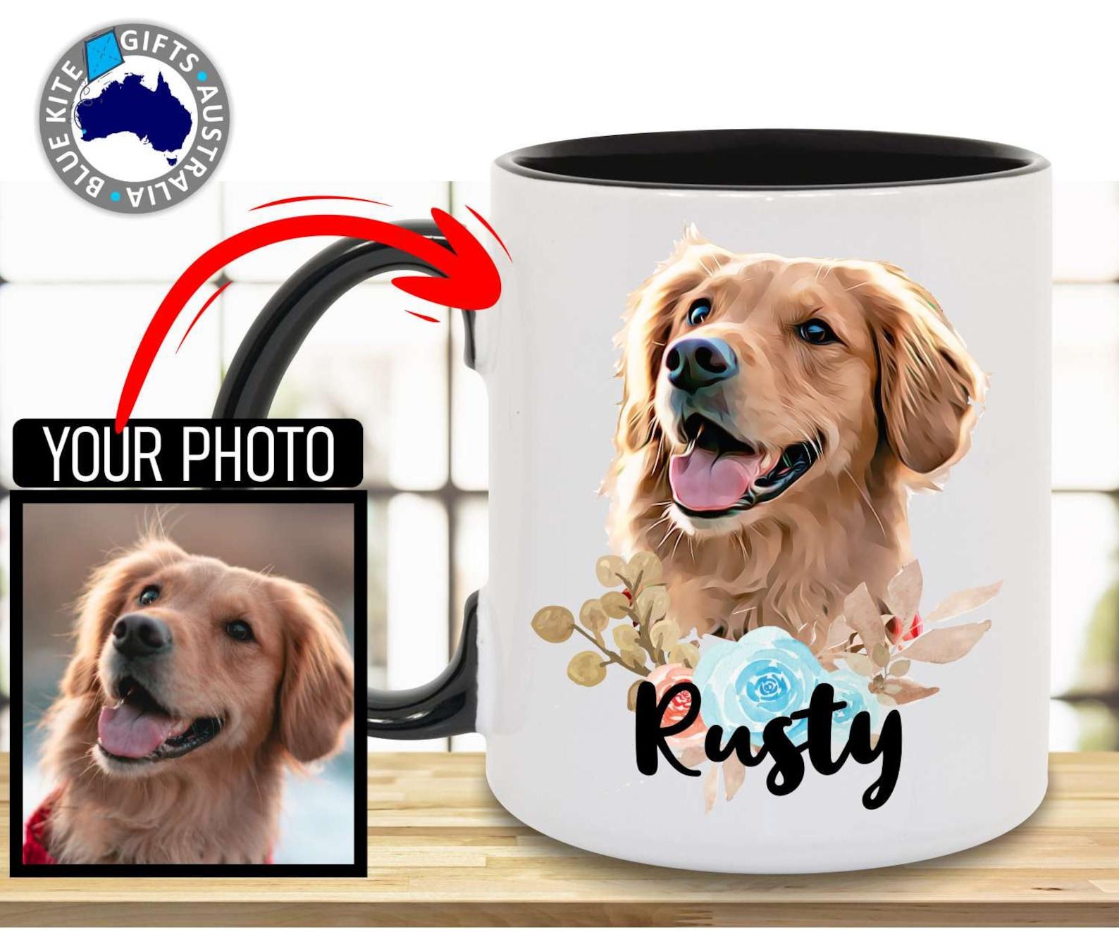 Personalised Golden Retriever Coffee Mug