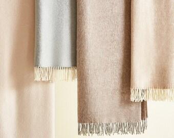 CASHMERE BLANKET / BEDSPREAD   Organic Blanket      Bed Throw Blanket   Warm Soft Bedspread   Winter Cozy Blanket   Bed Room Décor