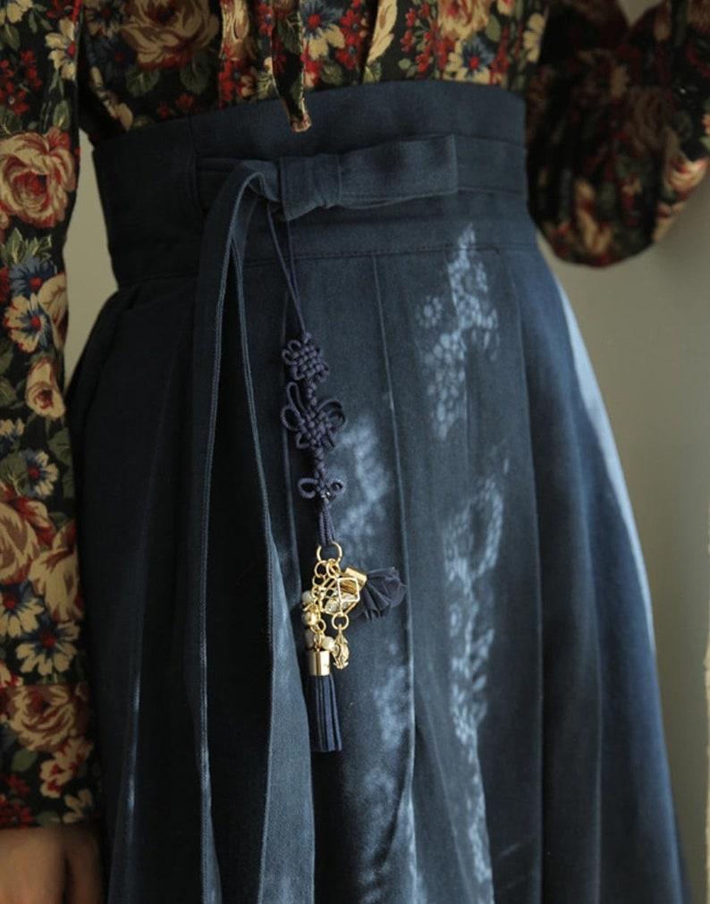 TETEROT SALON Sweet \ub178\ub9ac\uac1c \uc544\uae30\uc790\uae30\ud55c Clothes Accessories Tassels Norigae Hanbok Classic Vintage Gift