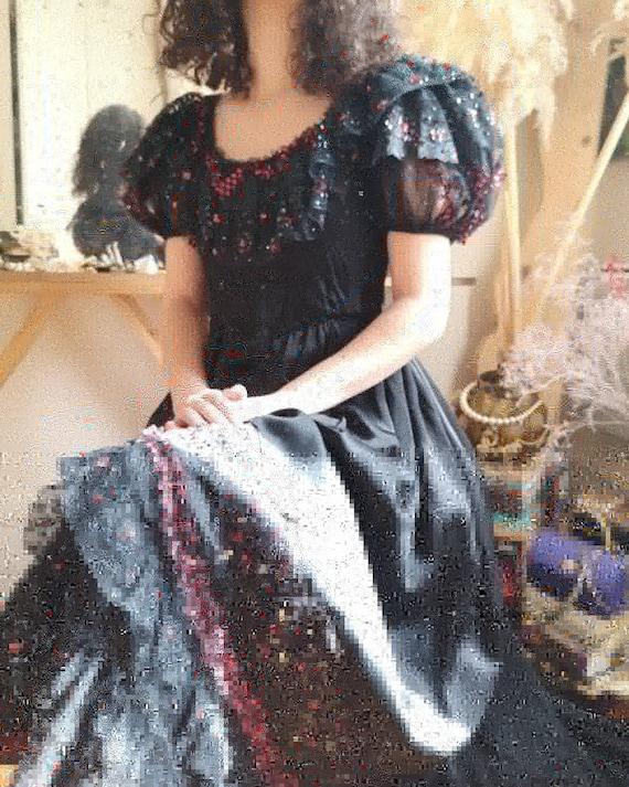 Vintage theatrical Farani's dress