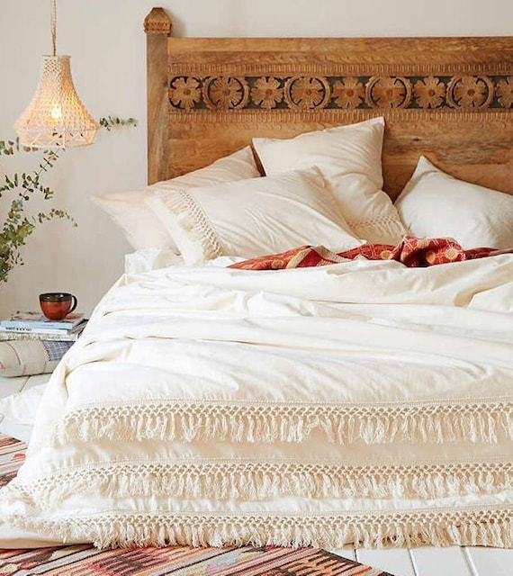 Duvet Cover With Buttons Duvet Cover Twin Full Double Queen King Toddler  boho Queen bedding 100/% cotton duvet cover Cotton Duvet Cover