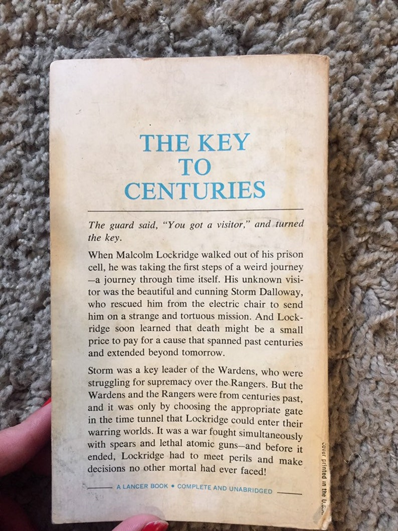 1965 The Corridors Of Time by Poul Anderson 1st Paperback Edition