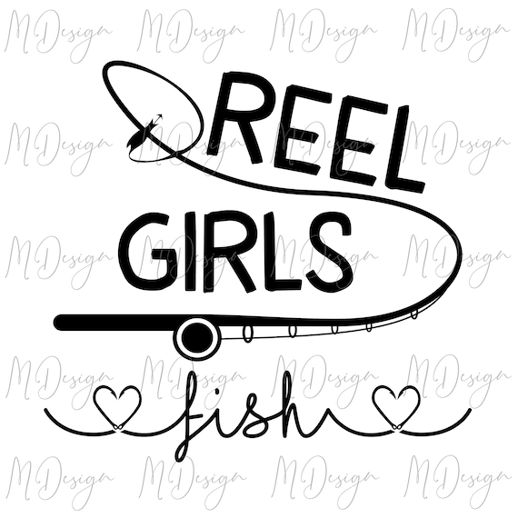 Download Reel Girls Fish Svg Cutting File For Cricut Silhouette Etsy