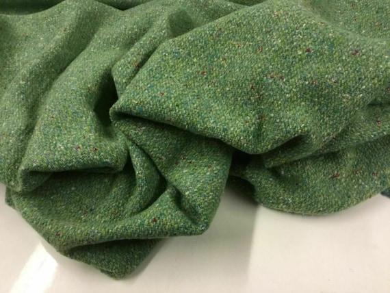 "NEW High Class Designer Wool Boucle Jersey Fabric 62"" 158cm"