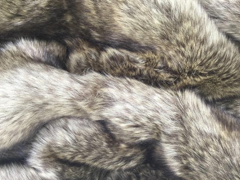 NEW High Class Luxury Soft Animal Fur Fabric