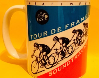 35c56abe5 Kraftwerk Tour De France 2003 - Album cover on a mug.