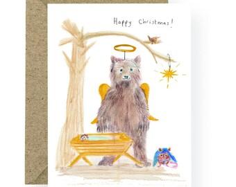 PRE ORDER Christmas Nativity Card