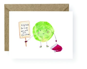 PRE ORDER A Sprouts for life Card