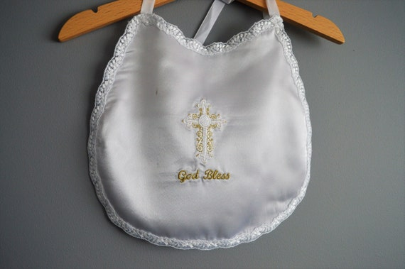 Personalised Christening,Naming or Wedding Day special occasion Bib