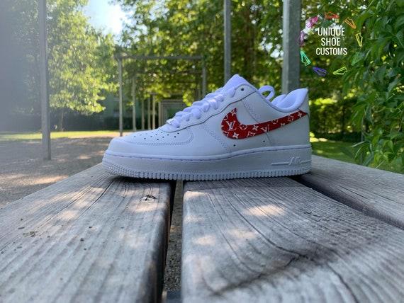 Custom Red Force Nike 1 Air N8y0Ovmwn