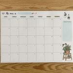 Planificador mensual, Mi mes, Organizador mensual, Calendario abierto