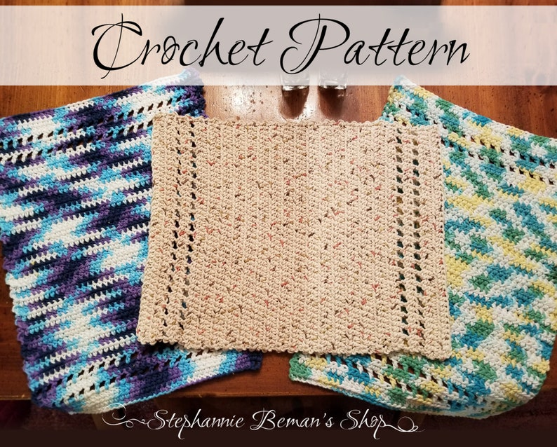 Crochet Pattern for Table Placemat  Easy Crochet Pattern  image 0
