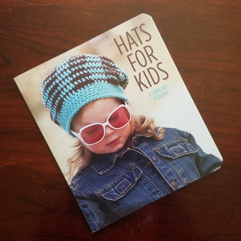 Crochet Hats for Kids  8 Crochet Designs by Leisure Arts  image 0