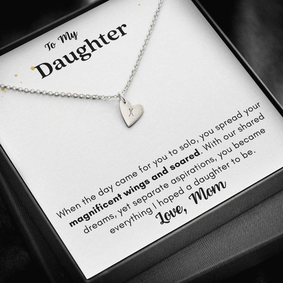 Daughter Gift Necklace, Gift from Dad, Daughter Birthday, Father Daughter Jewelry,Christmas Gift for Daughter,Daughter Gifts,Graduation Gift