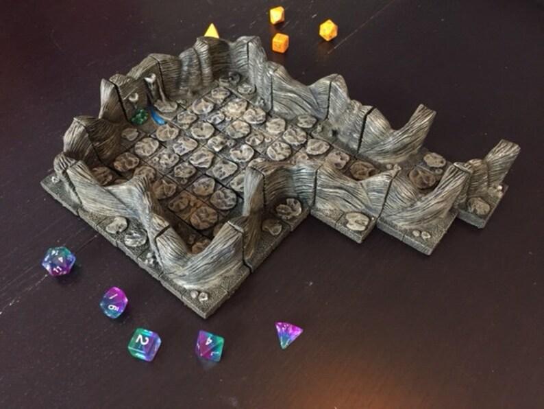 Cavern set