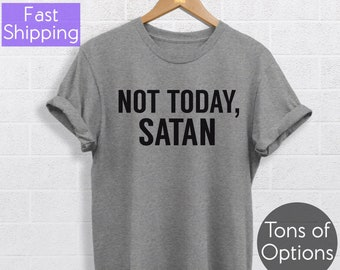 8d4bab3a Not today shirt   Etsy