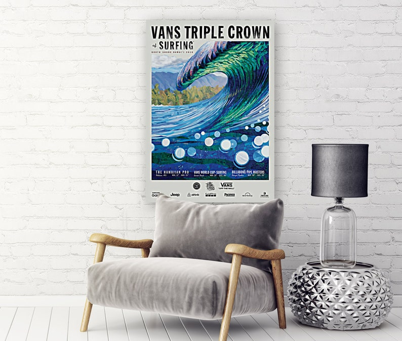 c569901091 2016 VANS Triple Crown of Surfing Competition Print Surfing